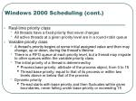 windows 2000 scheduling cont14