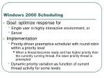 windows 2000 scheduling