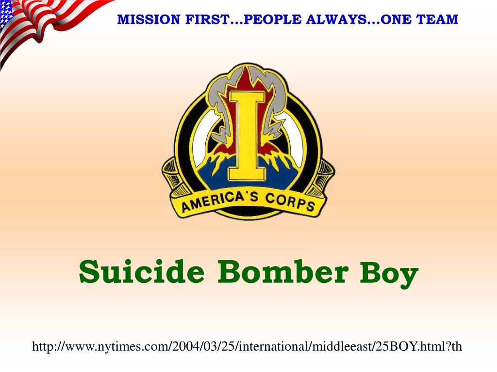 suicide bomber boy l.