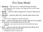 five state model