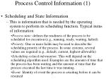 process control information 1