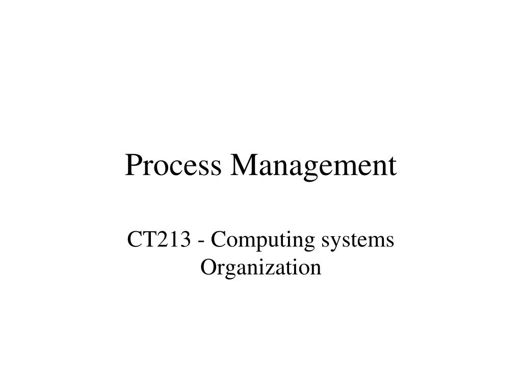 process management l.