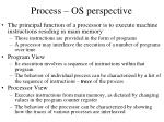 process os perspective