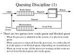 queuing discipline 1