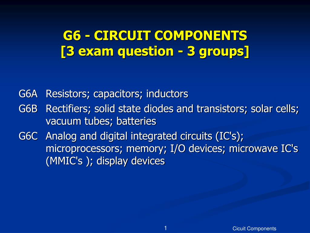 g6 circuit components 3 exam question 3 groups l.