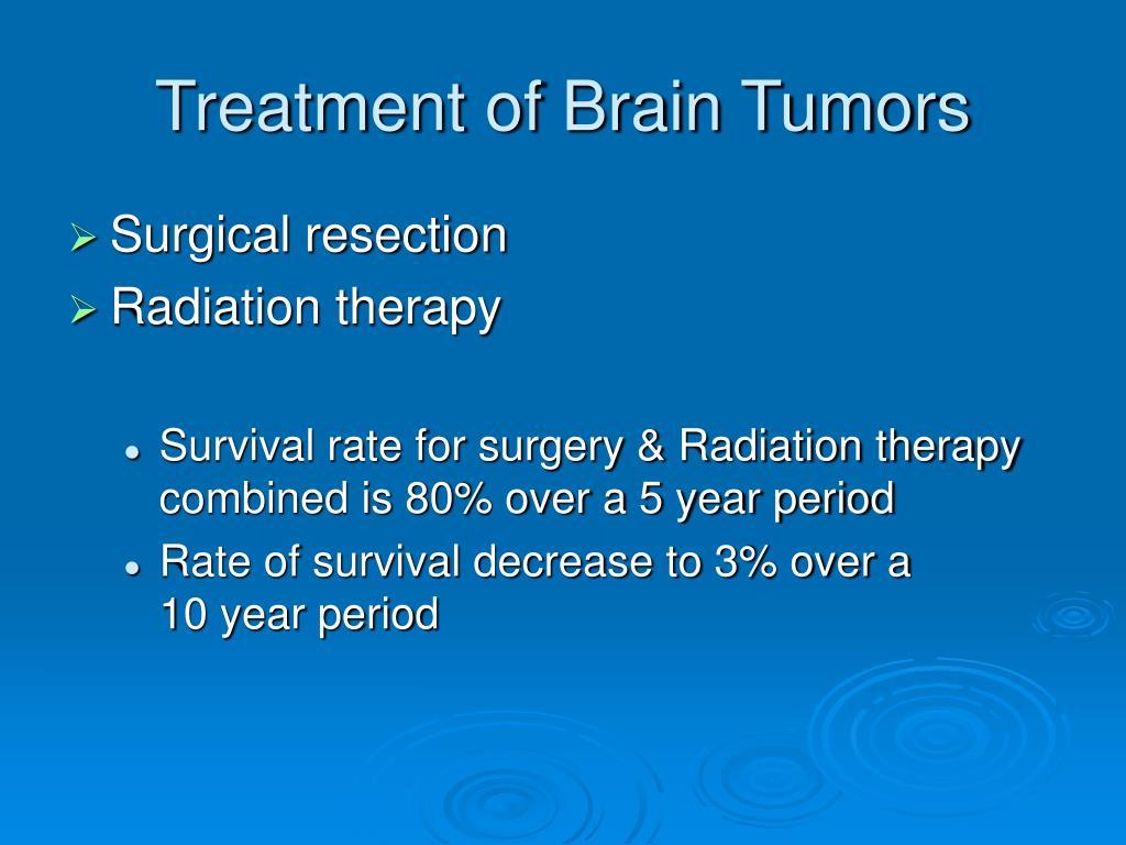 Treatment of Brain Tumors