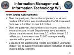 information management information technology wg22