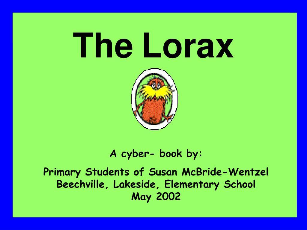 the lorax l.