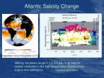 atlantic salinity change