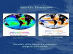 global sss e p distributions