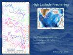 high latitude freshening