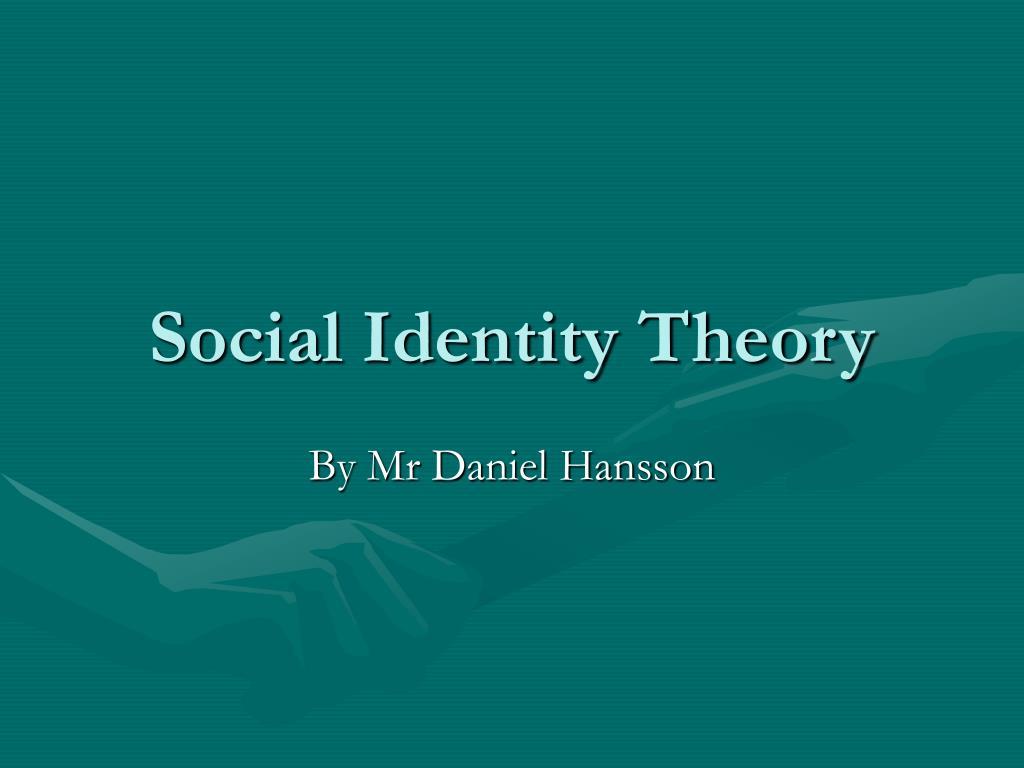 social identity theory l.