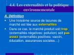4 4 les externalit s et la politique environnementale