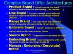 complex brand offer architectures jean noel kapferer