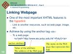 linking webpage