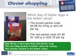 which bag of easter eggs is the better value