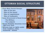 ottoman social structure