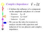 complex impedance35