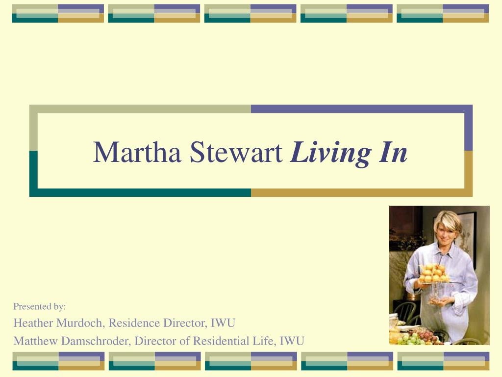 martha stewart living in l.