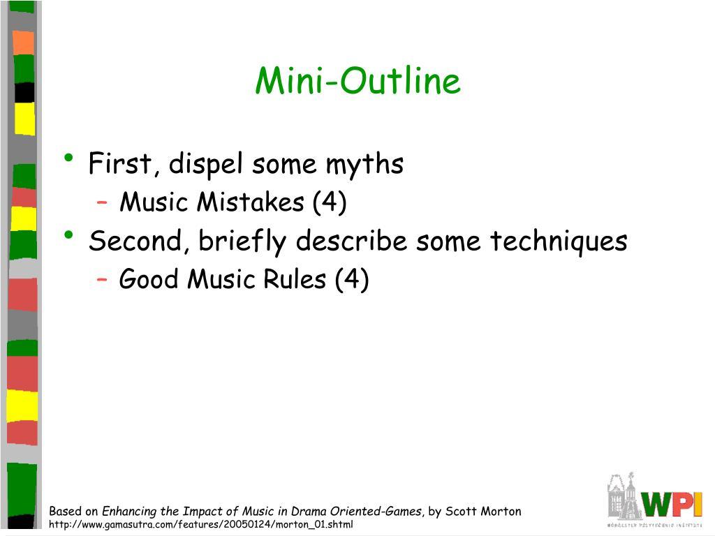 Mini-Outline