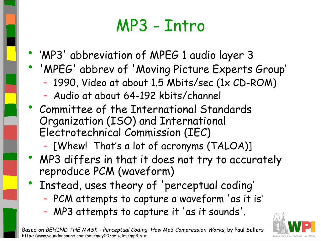 MP3 - Intro