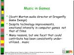 music in games