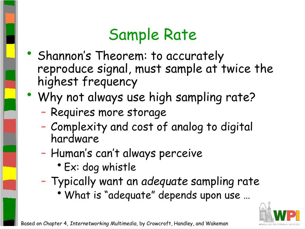 Sample Rate