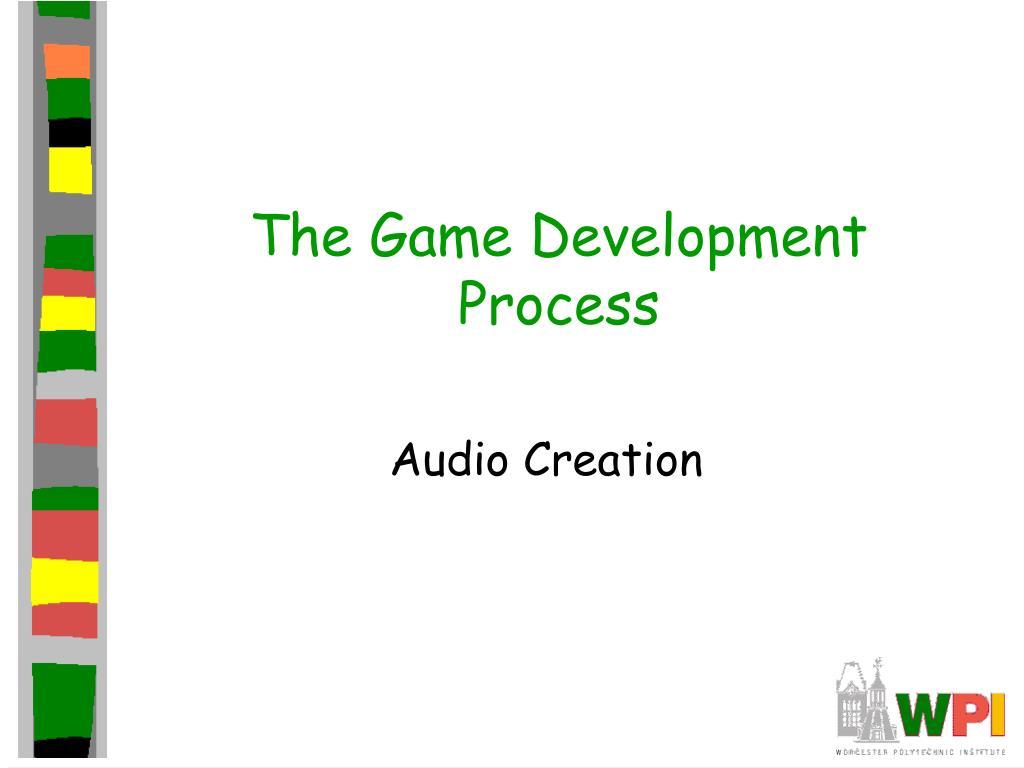 the game development process l.