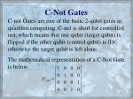 c not gates