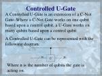 controlled u gate