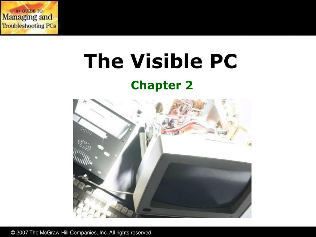 the visible pc l.