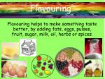 flavouring