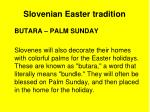 slovenian easter tradition