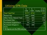 utilizing spa data34