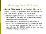 measuring bacterial growth45
