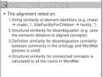 ontology alignment ii