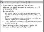 ontology alignment iii