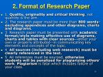 2 format of research paper