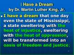 i have a dream by dr martin luther king jr