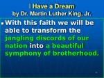 i have a dream by dr martin luther king jr22