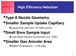 high efficiency nebulizer52