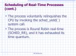 scheduling of real time processes cont27