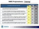 nims preparedness training