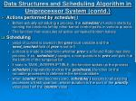 data structures and scheduling algorithm in uniprocessor system contd12