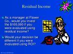 residual income17