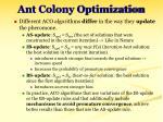 ant colony optimization25