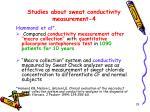 studies about sweat conductivity measurement 4