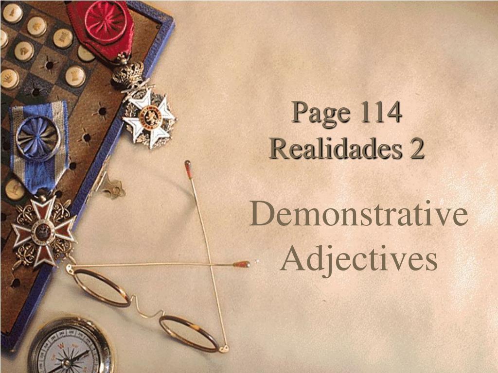 page 114 realidades 2 l.