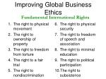 improving global business ethics8