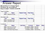 answer report45
